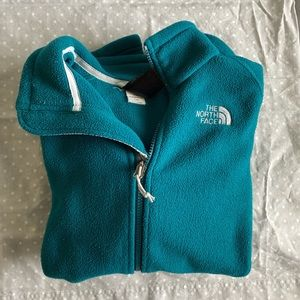 North Face Turquoise Jacket